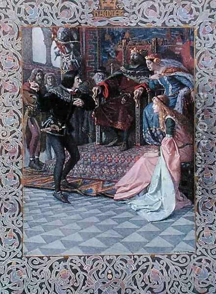 an analysis of ophelia and gertrude in hamlet by william shakespeare Queen gertrude in hamlet character analysis that dooms the love affair of hamlet and ophelia ago by englishman william shakespeare he is hamlet.