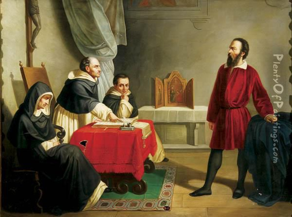 galileo galilei and the charges of heresy and blasphemy by the inquisition Portrait of galileo galilei arrives in rome to face an ecclesiastical court on charges of committing heresy galileo feb 13, 1633: church vs galileo.