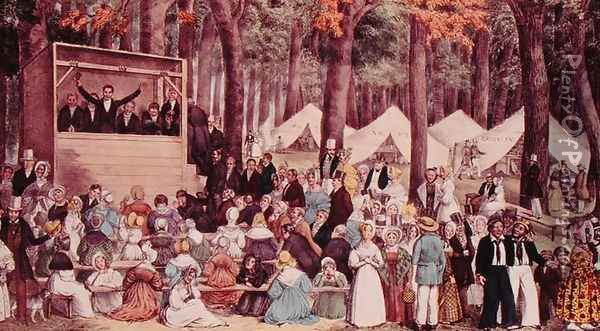 camp meeting and social reform The second great awakening reform, and the social order in the connecticut river valley of vermont  the social origins of camp meeting revivalism.