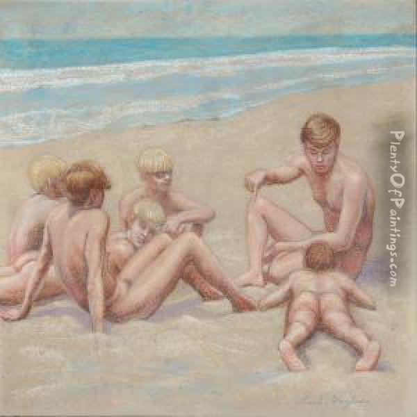 Fake. was naked teen boys sunbathing at the beach