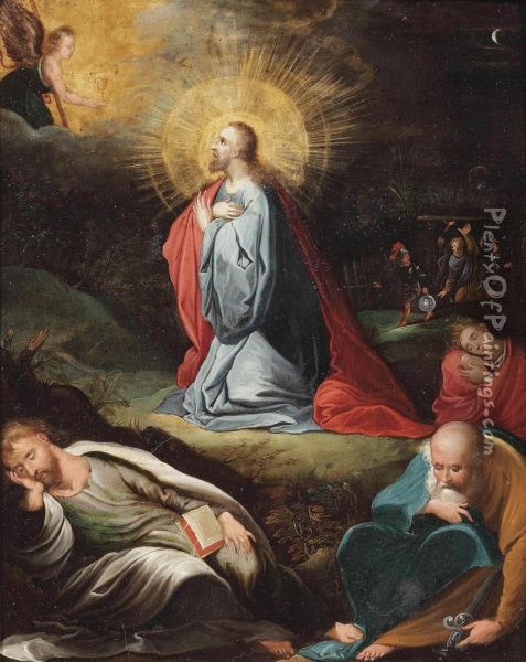 The Agony In The Garden Of Gethsemane Oil Painting