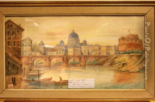 Bromotiv Oil Painting Reproduction By R Domba Plentyofpaintings Com