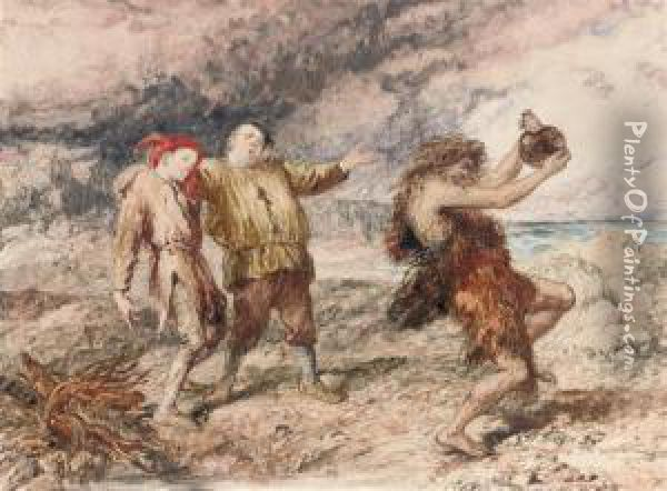 an overview of the calibans response to trinculo and stephano in the tempest a play by william shake Trinculo in the tempest by william as i was reading the section of the play where caliban takes stephano as his response to caliban in the tempest.