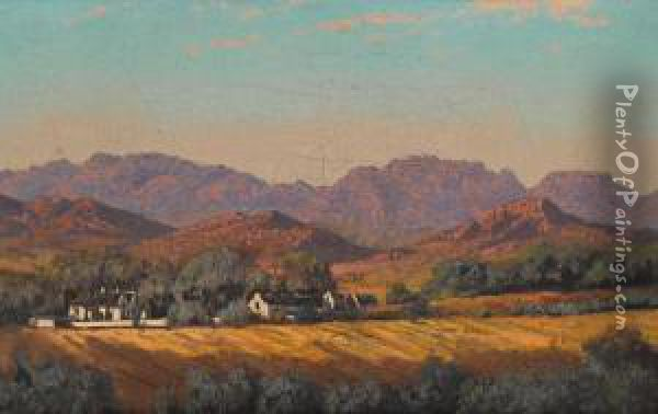 South African Landscape Oil Paintings South African Landscape With