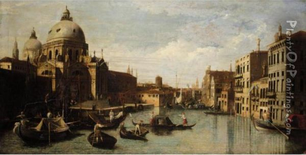 Venice, A View Of The Entrance 