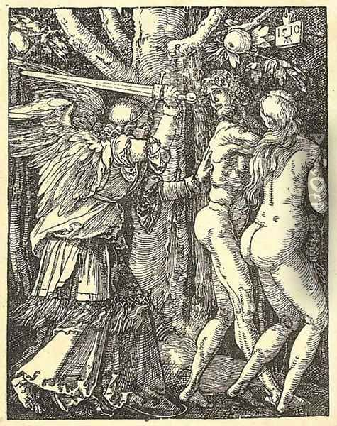 The small Passion Oil Painting - Albrecht Durer