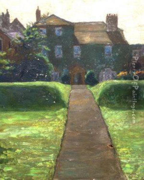The Elms Oil Painting - Alice Blanche Ellis