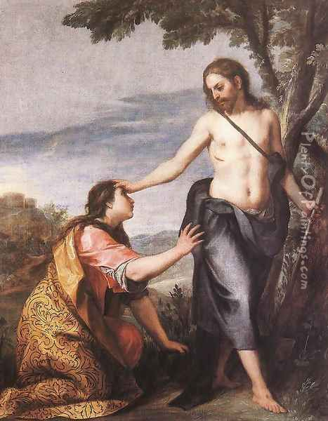 Noli me Tangere c. 1640 Oil Painting - Alonso Cano
