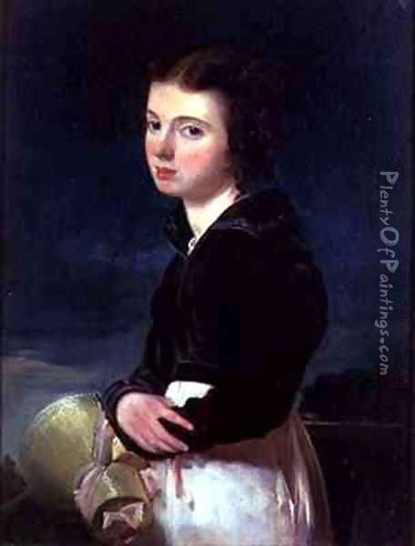 Lady Victoria Campbell Oil Painting - Andrew Geddes
