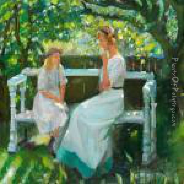 Reproduction I Painting Haven Ancher Oil Anna By RSxfrStw