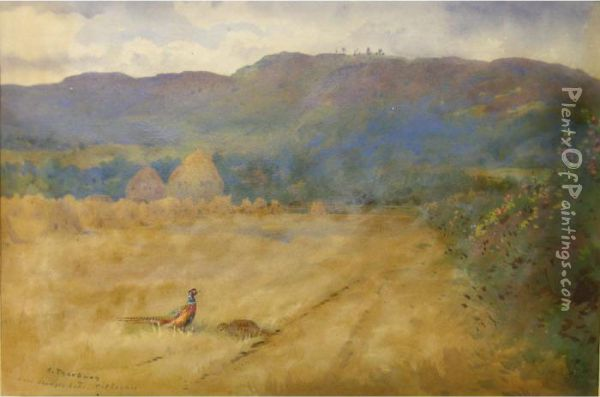 Near Shingle Beds- Pitlochry Oil Painting - Archibald Thorburn