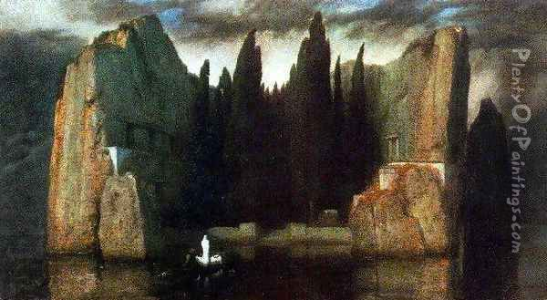 The Isle of the Dead, 1883 Oil Painting - Arnold Bocklin