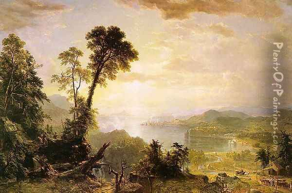 Progress (The Advance of Civilization) 1853 Oil Painting - Asher Brown Durand