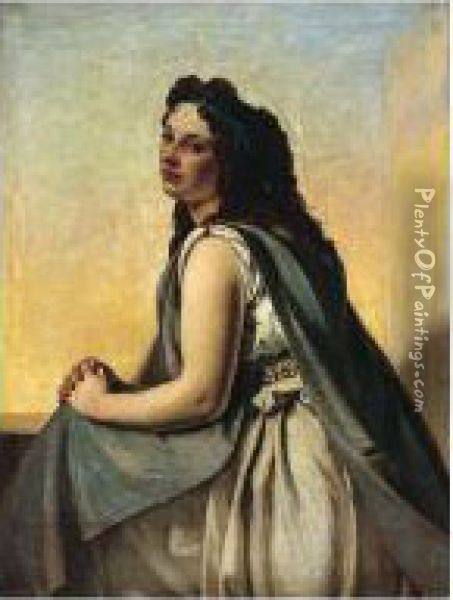 Portia Oil Painting - Augustus Leopold Egg