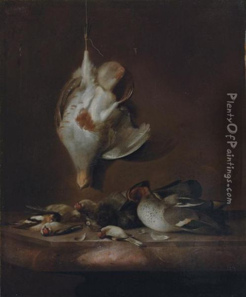 A Still Life With A Partridge 
