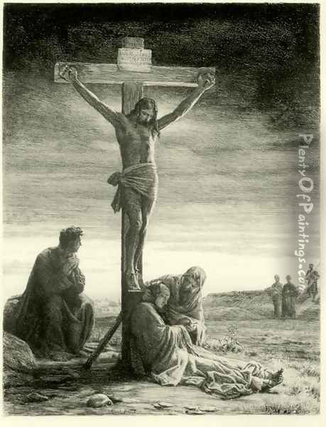 Crucifixion of Christ Oil Painting - Carl Heinrich Bloch