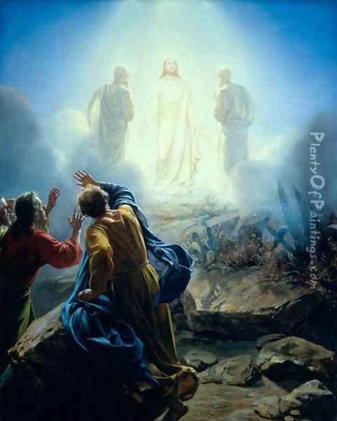 The Transfiguration Oil Painting - Carl Heinrich Bloch