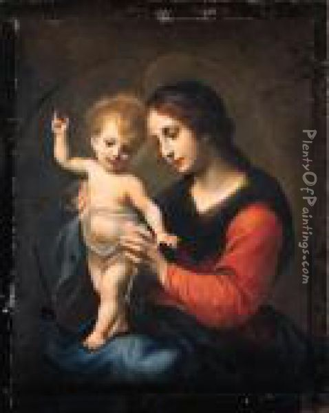 The Madonna And Child Oil Painting - Carlo Dolci