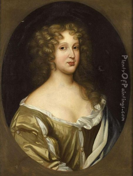 Portrait Of A Lady Oil Painting - Charles Beale