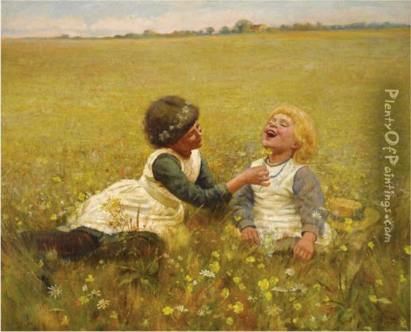 Do You Like Butter? Oil Painting - Charles G. Hards