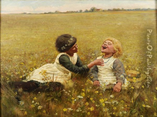 Do You Like Butter Oil Painting - Charles G. Hards