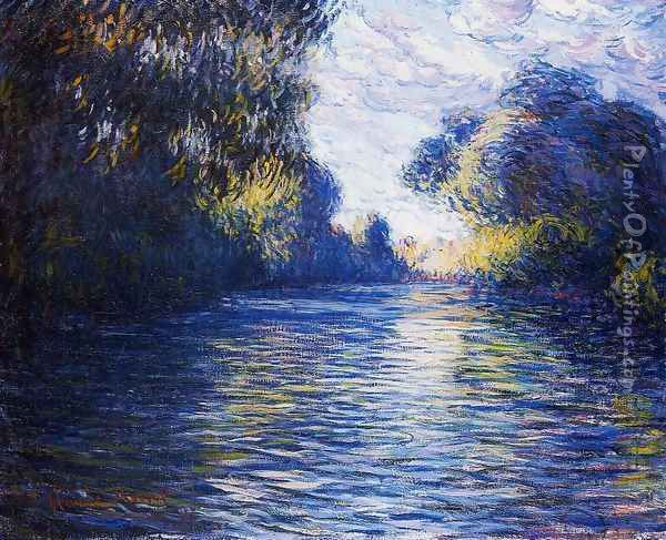 Morning on the Seine IV Oil Painting - Claude Oscar Monet