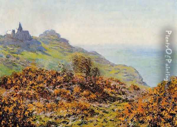 The Church At Varengeville And The Gorge Of Les Moutiers Oil Painting - Claude Oscar Monet