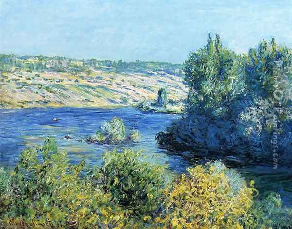 The Seine At Vetheuil2 Oil Painting - Claude Oscar Monet