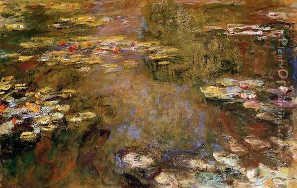 The Water-Lily Pond VII Oil Painting - Claude Oscar Monet