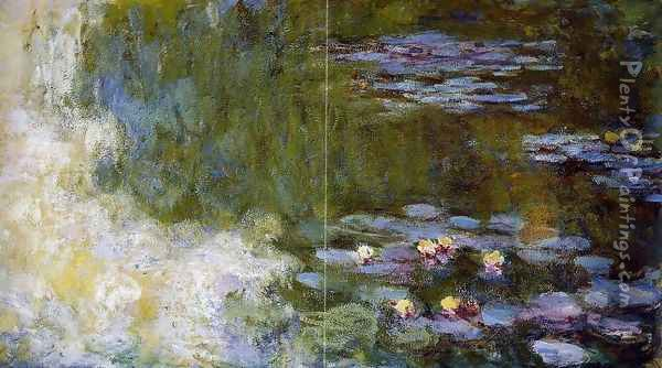 The Water-Lily Pond XII Oil Painting - Claude Oscar Monet