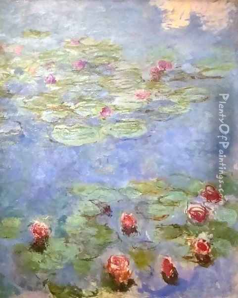 Water Lilies 2 Oil Painting - Claude Oscar Monet