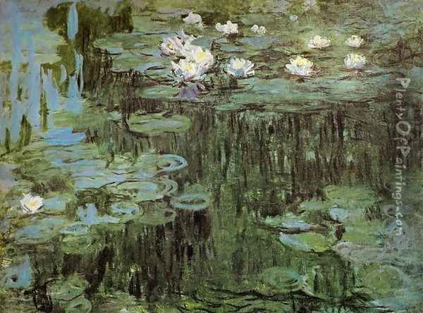 Water Lilies I Oil Painting - Claude Oscar Monet