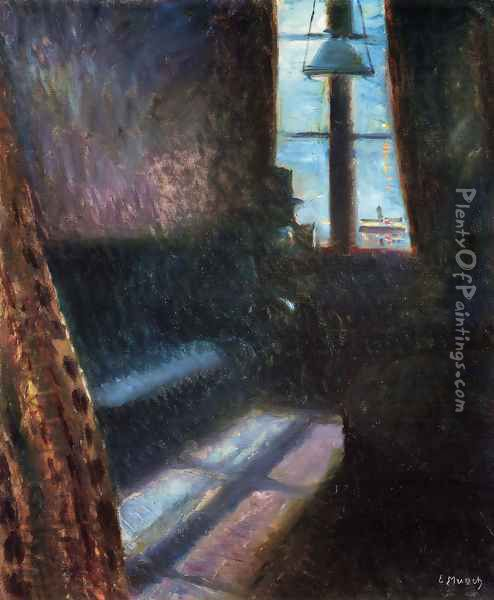 Night in St. Cloud Oil Painting - Edvard Munch