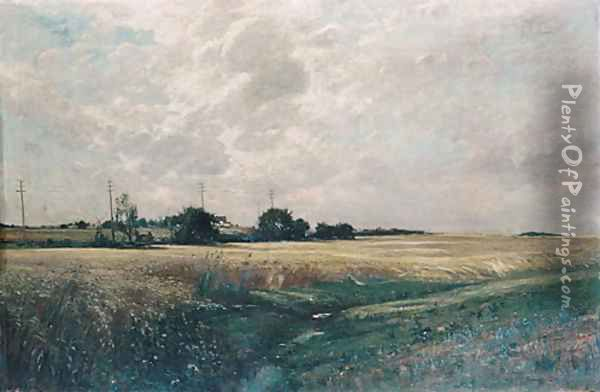 Broad Acres 1887 Oil Painting - Edward B. Gay