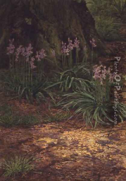 Bluebells Oil Painting - Edward Clifford