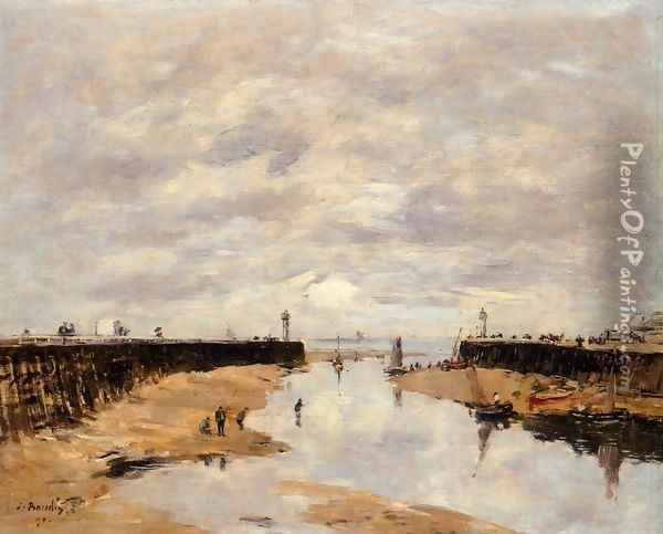 The Port 1886 Oil Painting - Eugene Boudin