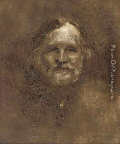 Dr. Metchnikoff Oil Painting - Eugene Carriere