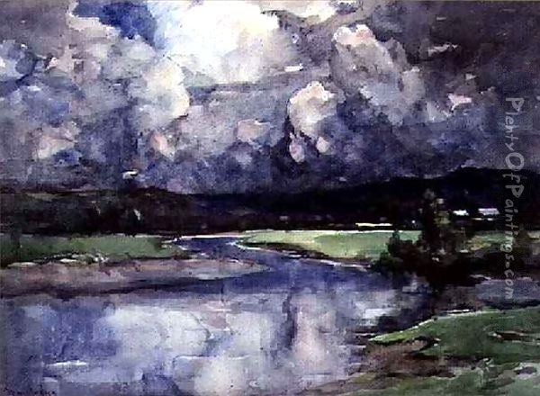 Cloud Chariots Oil Painting - Francis Abel William Taylor Armstrong