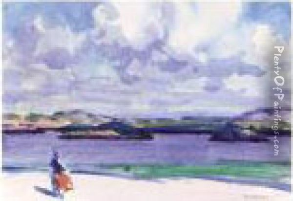 The Sands Of Iona Oil Painting - Francis Campbell Boileau Cadell