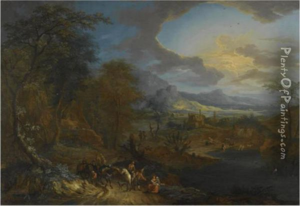 An Extensive Rhenish Landscape 