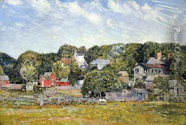 Amagansett, Long Island, New York Oil Painting - Frederick Childe Hassam