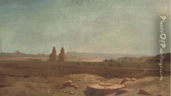 The Valley Of The Kings, Egypt Oil Painting - Frederick Goodall