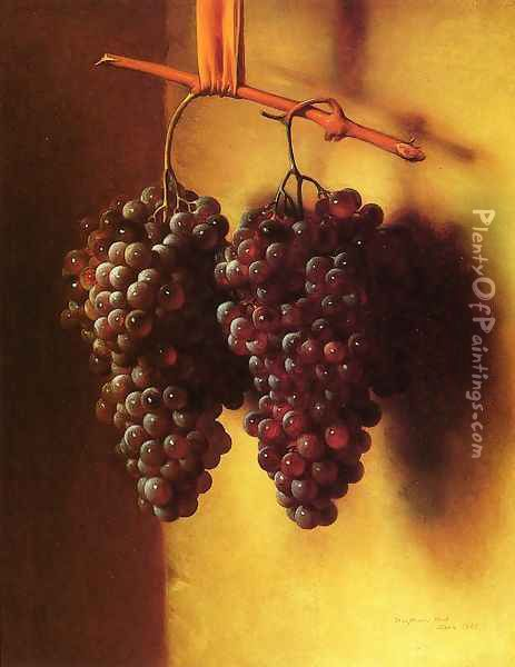 The Twins, Chianti Grapes Oil Painting - George Henry Hall