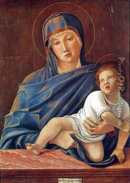 Madonna with the Child 1460-64 2 Oil Painting - Giovanni Bellini