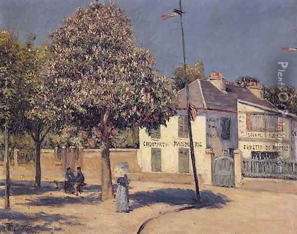 The Promenade At Argenteuil Oil Painting - Gustave Caillebotte