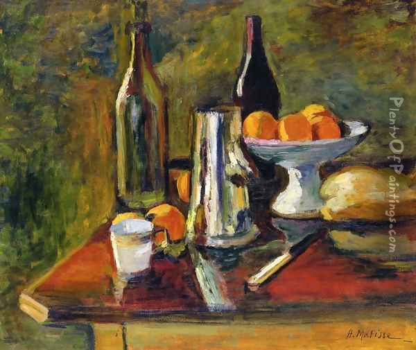 Still Life with Oranges Oil Painting - Henri Matisse