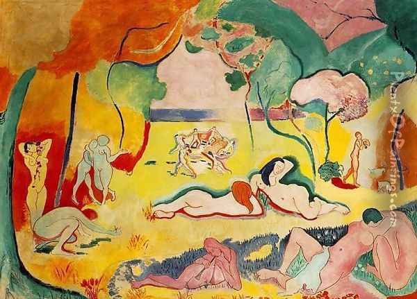 The Joy of Life Oil Painting - Henri Matisse