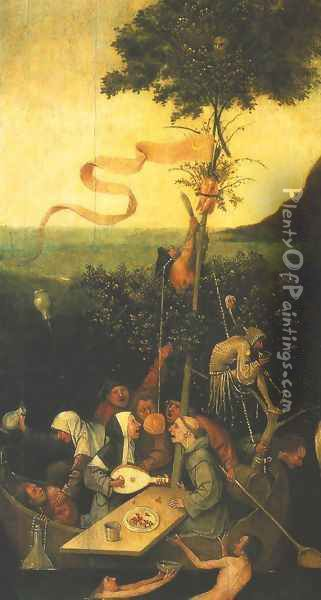 Ship of Fools Oil Painting - Hieronymous Bosch