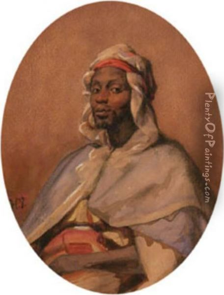 Circle Of. [the Sheikh] Oil Painting - Horace Vernet