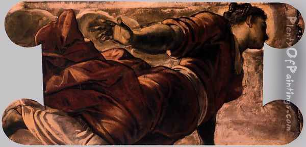 Allegory of Generosity Oil Painting - Jacopo Tintoretto (Robusti)